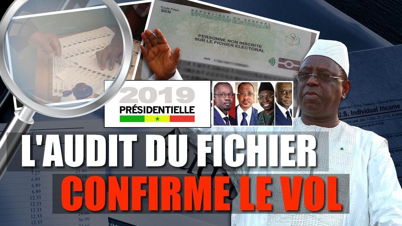 Audit Fichier Electoral 2019 : Ndéké Macky Gagner Wul Woon Election Yii
