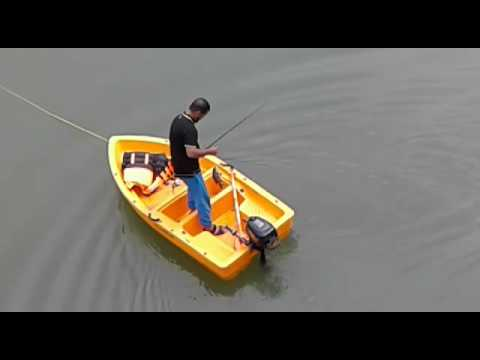 Plastic boats for recreational water sports, fishing, boating now in India