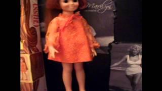 Гарний Кріссі ростуть волосся ляльки ідеально. 60-х & 70-х років ляльки та старовинні