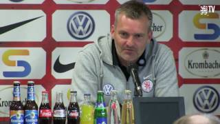 löwen.tv • Pressekonferenz  KSV Hessen - VfB Stuttgart II - 29.40.2017