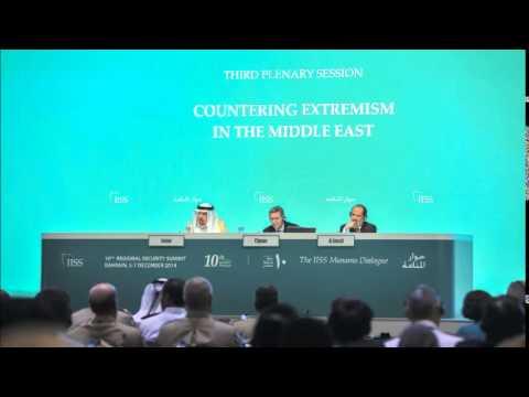 IISS Manama Dialogue 2014  3rd Plenary Session