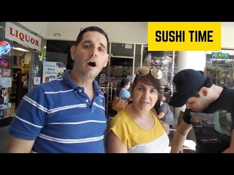 Sushi Time!  Jason Caceres