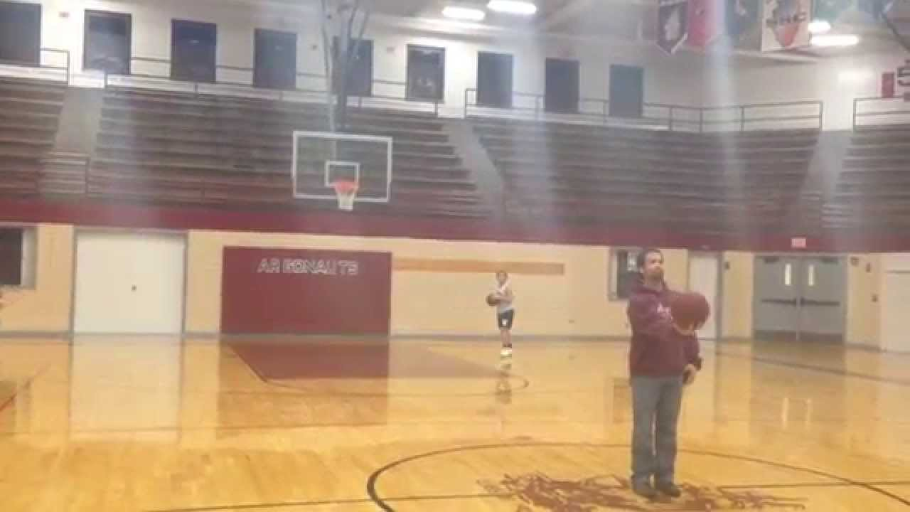 Basketball Half Court Shot - YouTube