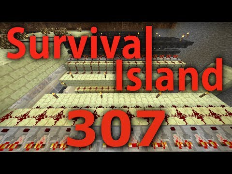 Minecraft- Survival Island [307] PIPING ITEMS