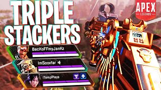 The Ultimate Triple Stackers! - PS4 Apex Legends