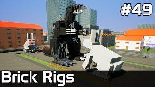 Brick Rigs PL [#49] GODZILLA kontra KRÓLIKI