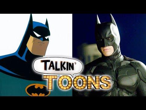 Kevin Conroy Voices Christopher Nolan's The Dark Knight! Talkin' Toons w Rob Paulsen