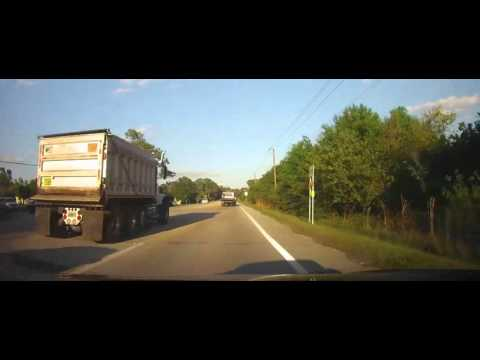 Driving on Buckingham Road in Fort Myers, Florida