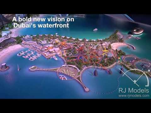 Dubai New Project 2017. Scale Model Making-Marsa Al Arab Dubai's next mega-project unveiled