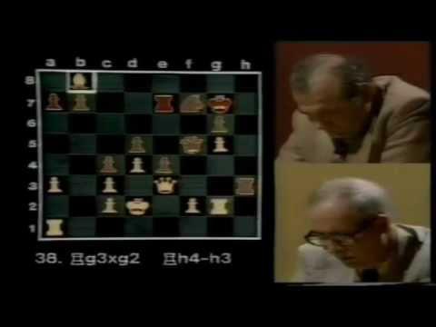 Robert Byrne vs Viktor Korchnoi .subtitulos Español .Master Games.