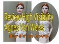 Review High Visibility Agnes Von Weiss Dressed Doll Mini Gift Set The Fashion Royalty |  by Fr in