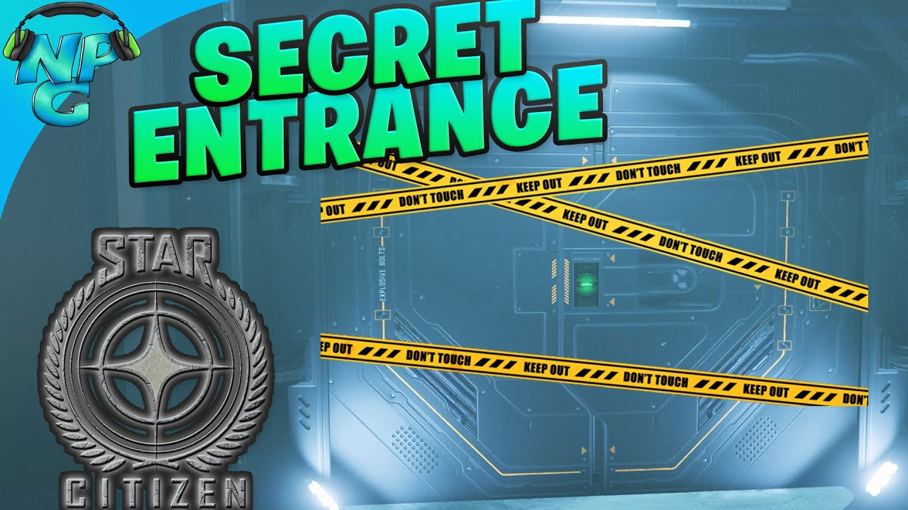 The SECRET Entrance New Babbage - Fast Shop Access! Star Citizen Tips and Tricks