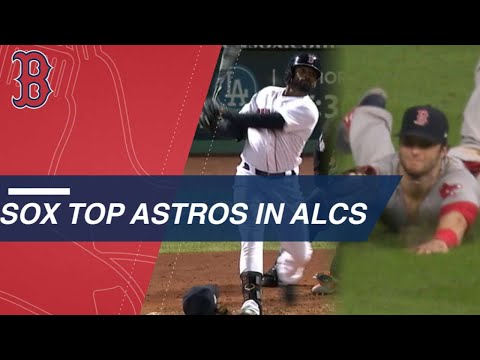 - Red Sox Finish Astros In Five, Head To Series
