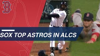 Key homers from Jackie Bradley Jr., great defense from Andrew Benin...