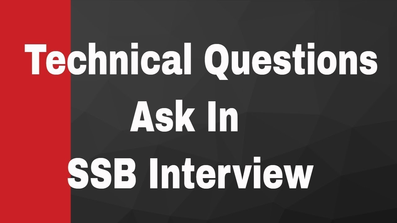Ssb Interview Questions And Answers Pdf