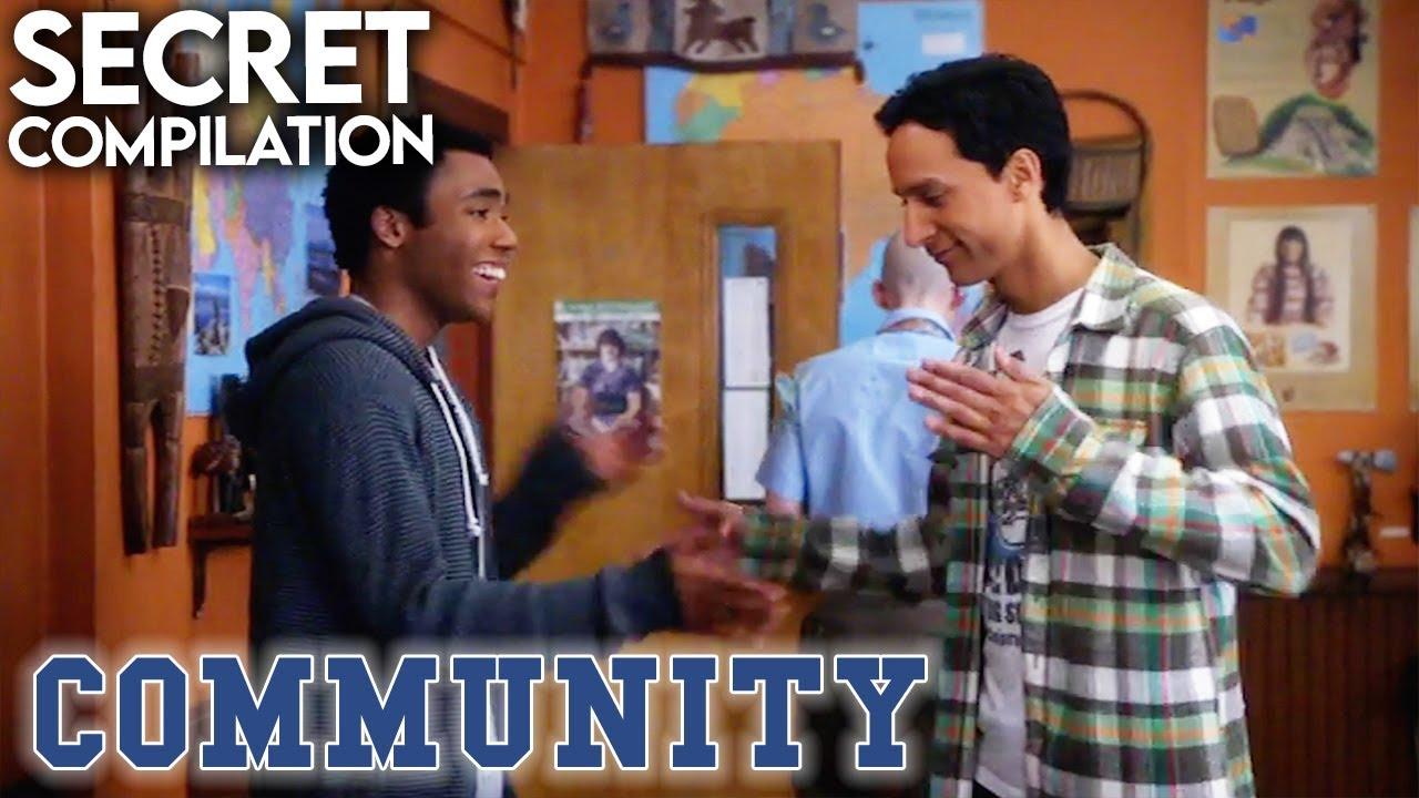 Troy & Abed's Super Secret Handshake | Compilation | Community