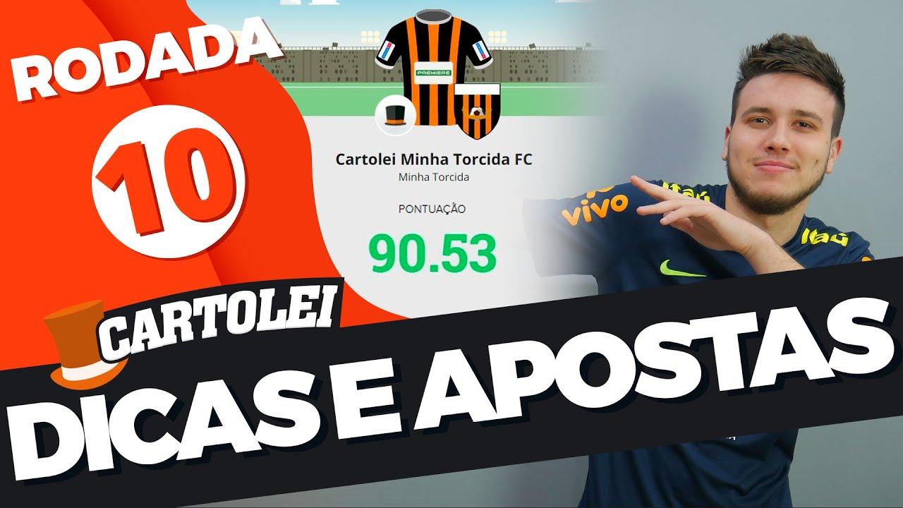CARTOLA FC - DICAS Rodada 10: Melhores apostas para colocar no seu time!