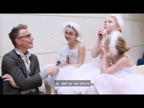Balletbørn danser på Det Kongelige Teater