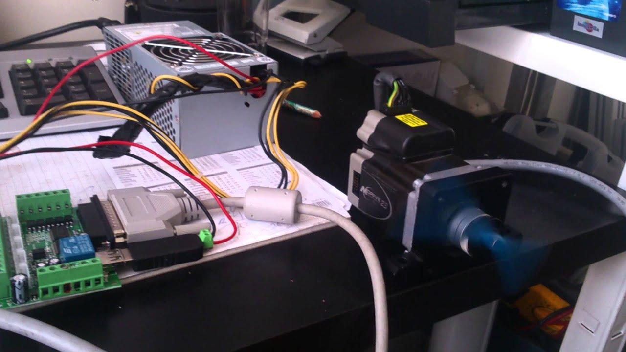 Test Mdrive 23 Stepper Motor Youtube