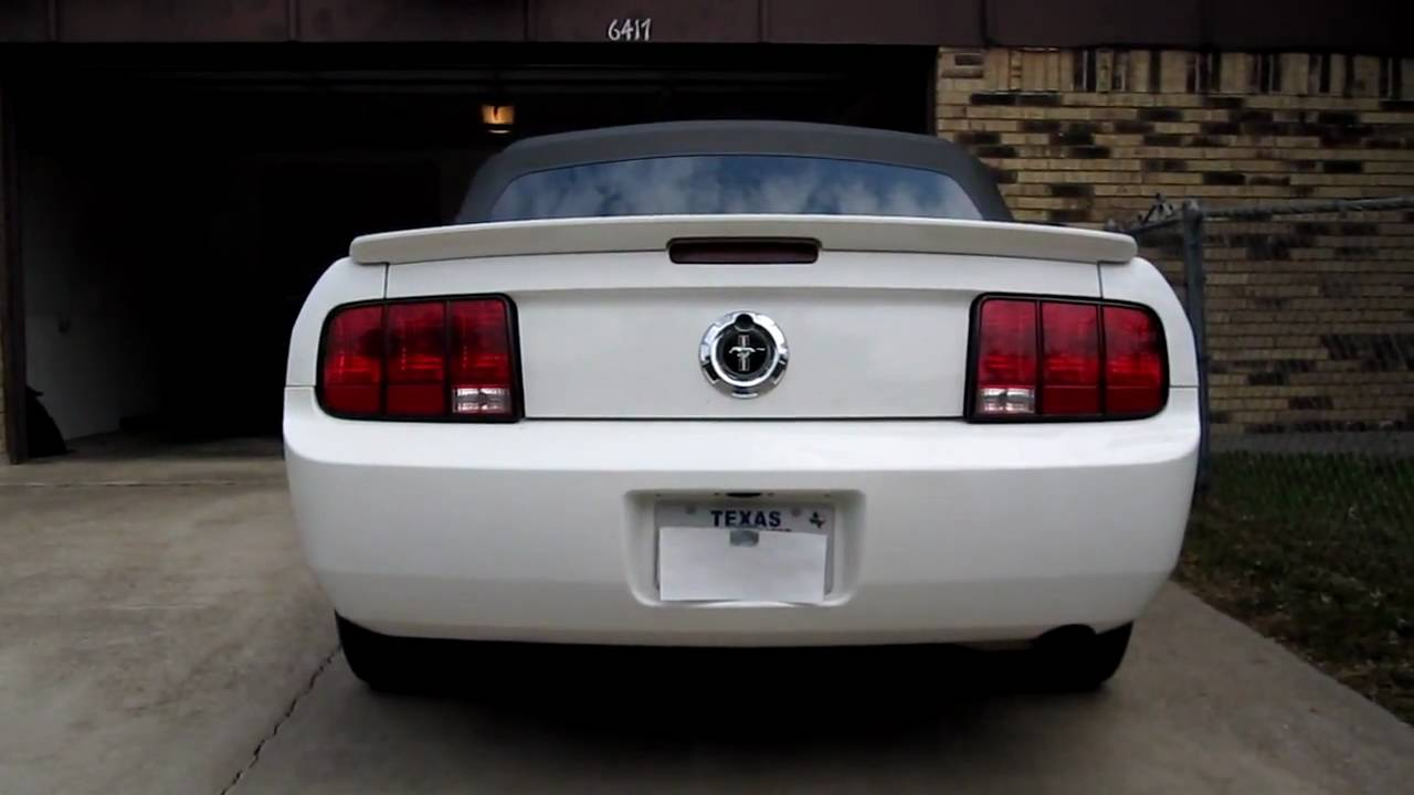 2008 mustang sequential led tail lights youtube. Black Bedroom Furniture Sets. Home Design Ideas