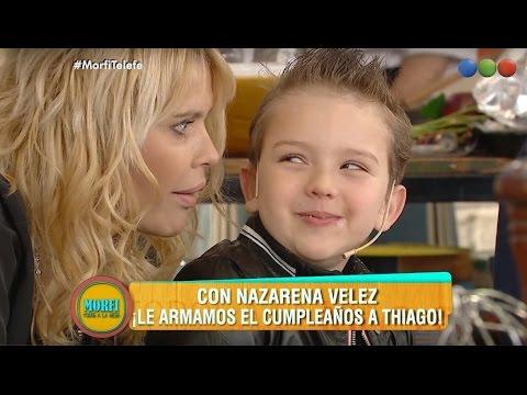 La inesperada revelación que hizo el hijo de Nazarena Vélez en televisión