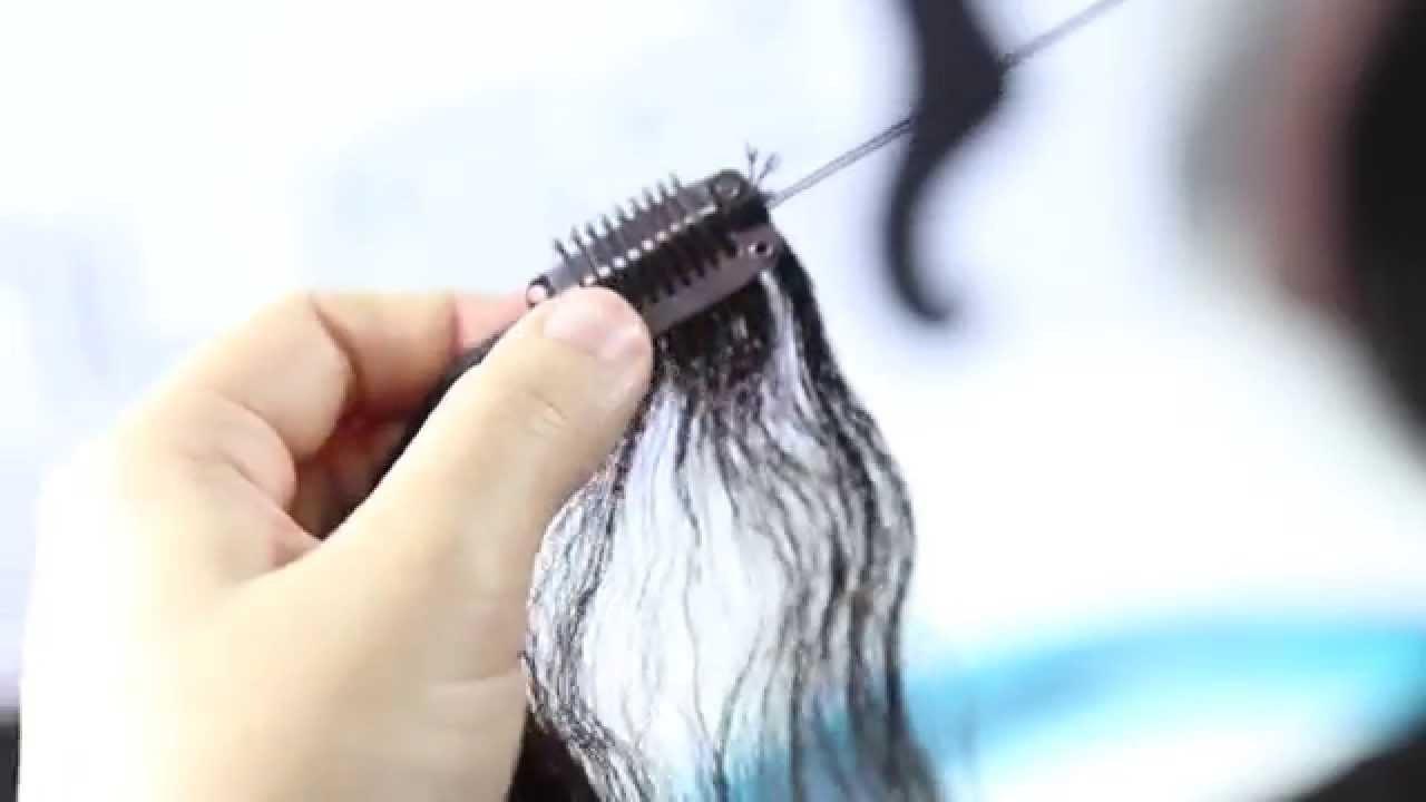 Diy Clip In Hair Extensions Tutorial Youtube