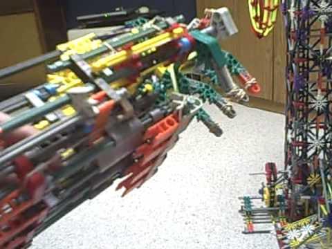 K Nex Gone Wild Mechanical Arm How To Doovi