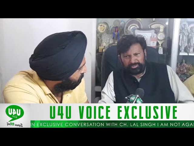U4UVoice in Exclusive Conversation with Ch. Lal Singh