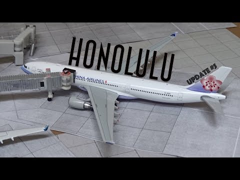 [Homemade] 1/400 Daniel K. Inouye Honolulu International Airport | Update #5 | New Models!