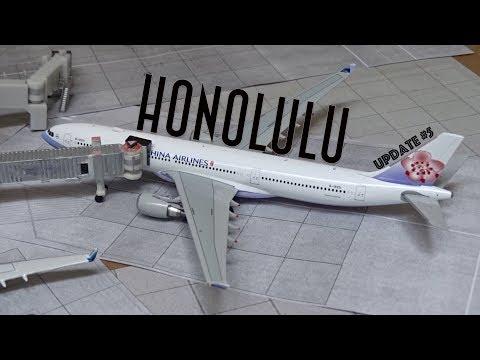 [Homemade] 1/400 Daniel K. Inouye Honolulu International Airport | Update #4 | New Models!