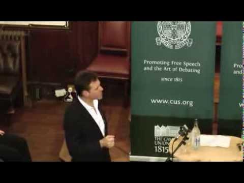 Professor Niall Ferguson | The Cambridge Union
