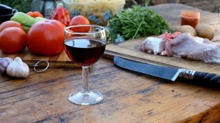 Готовим Лагман Вкусный рецепт Лагман в казане на мангале