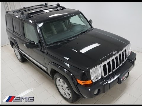 2009 jeep commander overland hemi 4135 youtube. Black Bedroom Furniture Sets. Home Design Ideas