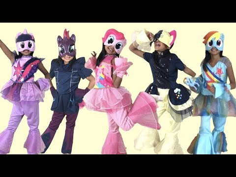 My Little Pony The Movie 2017 DELUXE Halloween Costumes with Figures | Toys Academy & My Little Pony The Movie 2017 DELUXE Halloween Costumes with Figures ...