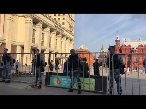 Кремль перекрыт силовиками