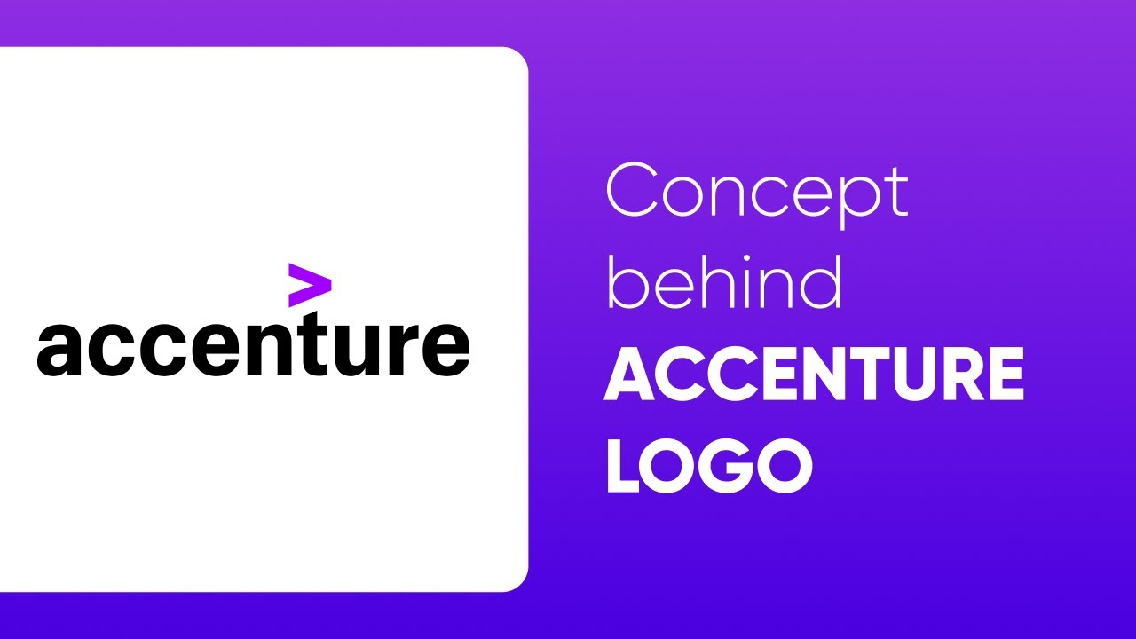 Hidden meaning behind the Accenture logo   YouTube