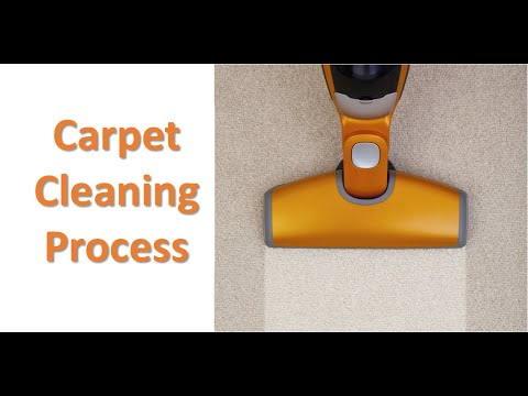 Carpet Cleaning Process by Scrubbing Machine - Full Guide