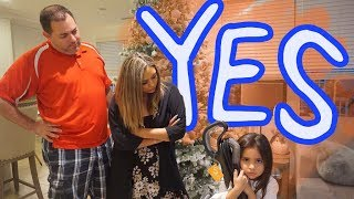Kids Say YES to EVERYTHING Parents want for 24 Hours!!