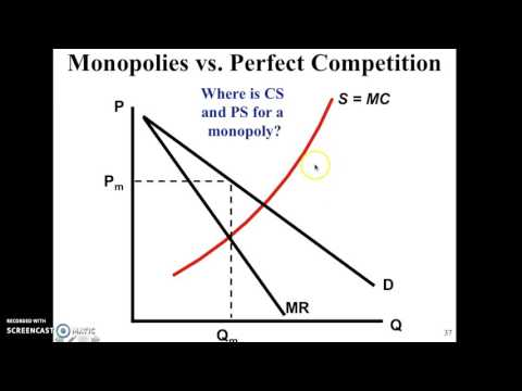Monopolies and Elasticities