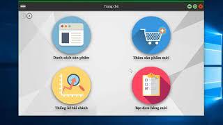 Đồ án cuối kỳ Lập trình Windows - Ứng dụng quản lý bán hàng