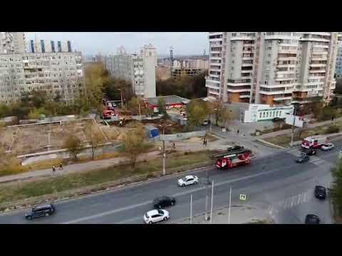 Блестательная работа пожарных Волгограда 7 ноября 2018