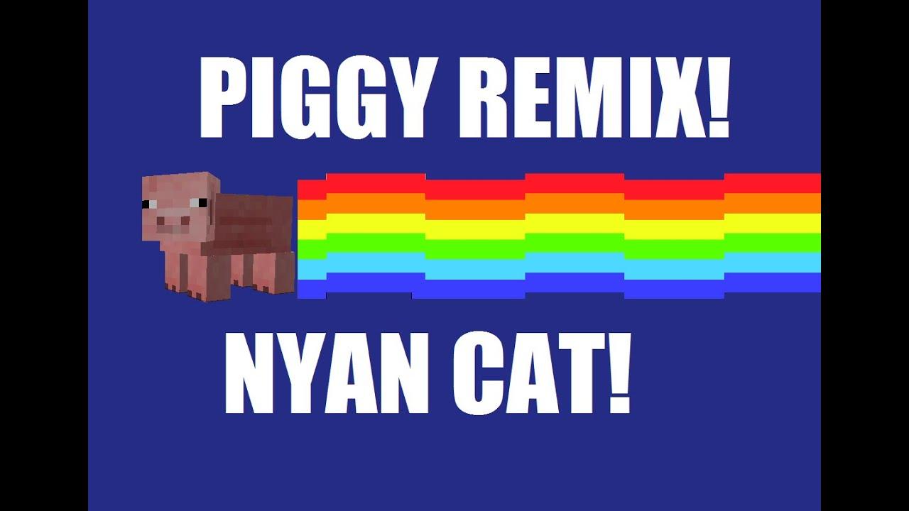 The Floppy Pig! Nyan Cat Piggy Remix!