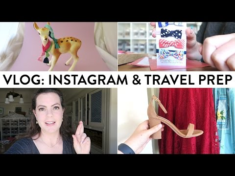 VLOG: Taking Photos for Instagram & Travel Prep   Day in the Life of a Business Owner