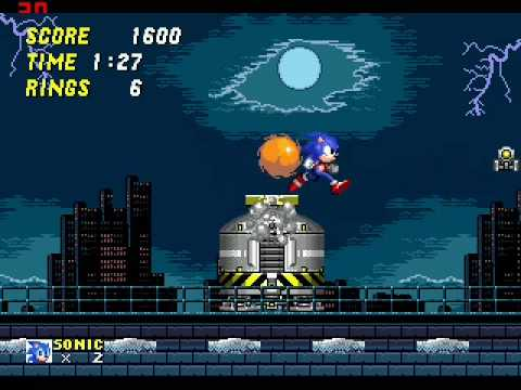 all secret levels on sonic 2 with boss fights - YouTube