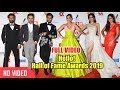 "Bollywood Stars At ""Hello Hall Of Fame Awards 2019"" | Sonam Kapoor | Jhanvi Kapoor"