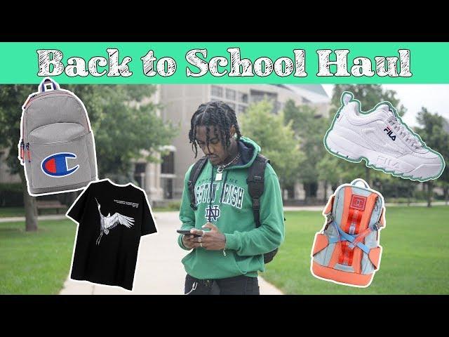 Huge Mens Back to School Clothing Haul (2018)| Affordable Streetwear Essentials