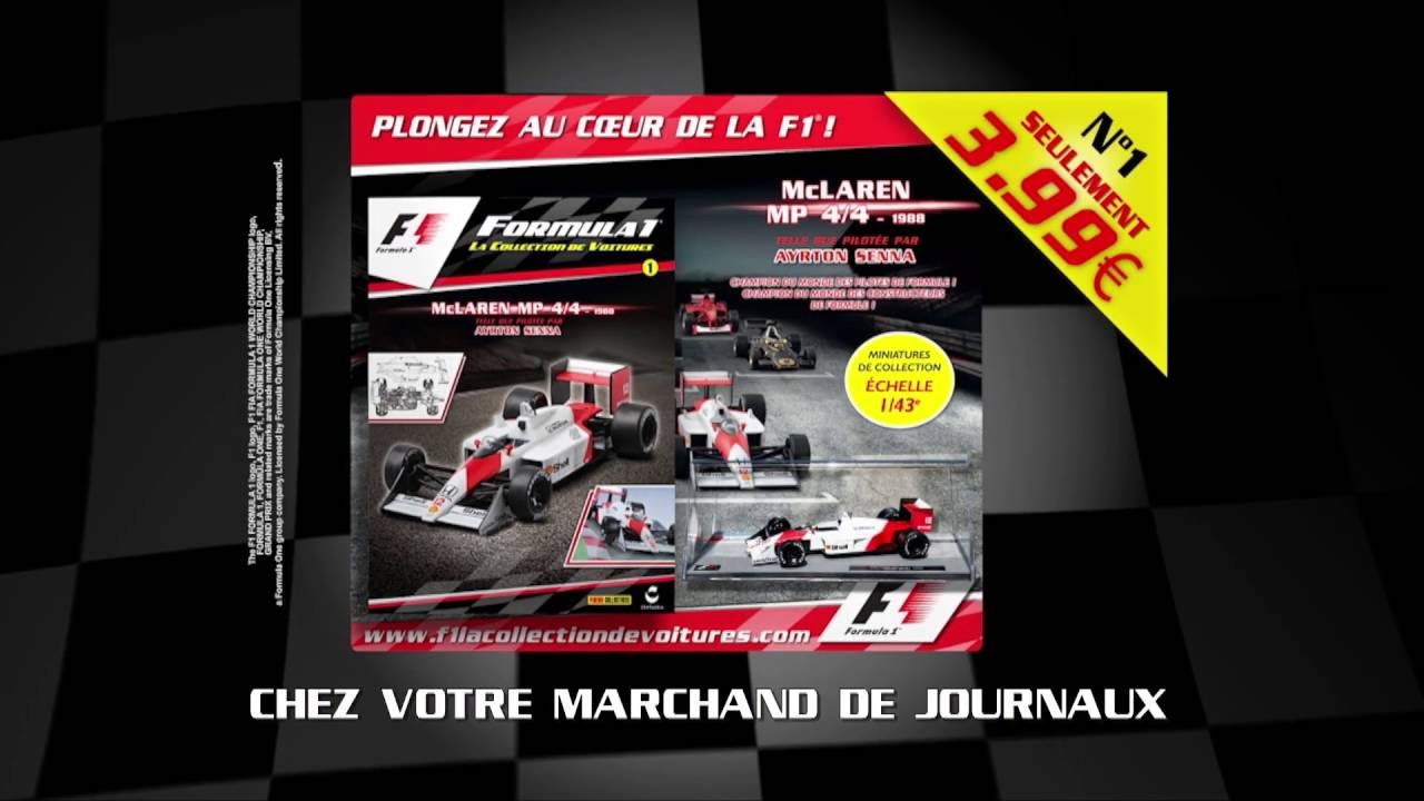 f1 la collection de voitures youtube