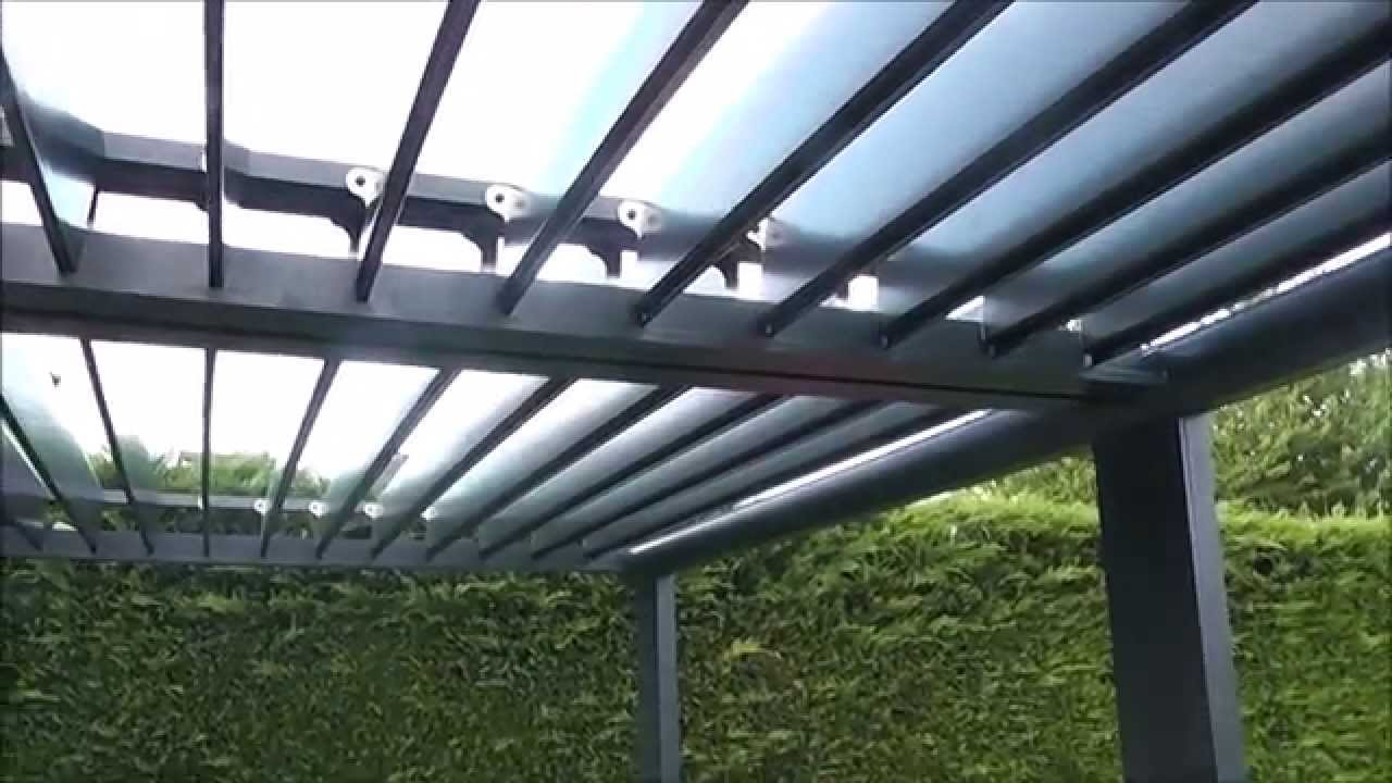 Pergola bioclimatique nfi youtube - Pergola bio climatique ...