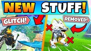 *NEW* CRAZY NEW GLITCH & MECH REMOVED! (Fortnite Update Season 10)