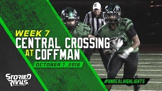 HS Football | Central Crossing at Dublin Coffman [10/7/16]